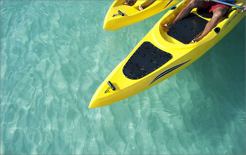 St. Regis Mauritius Resort Watersports Kayaking