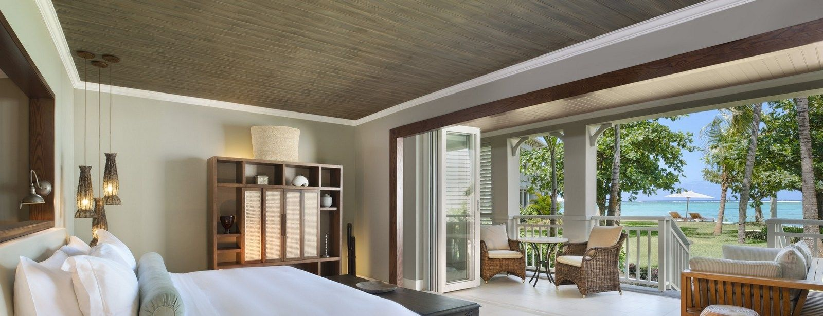 St. Regis Mauritius Ocean facing suite with sea view