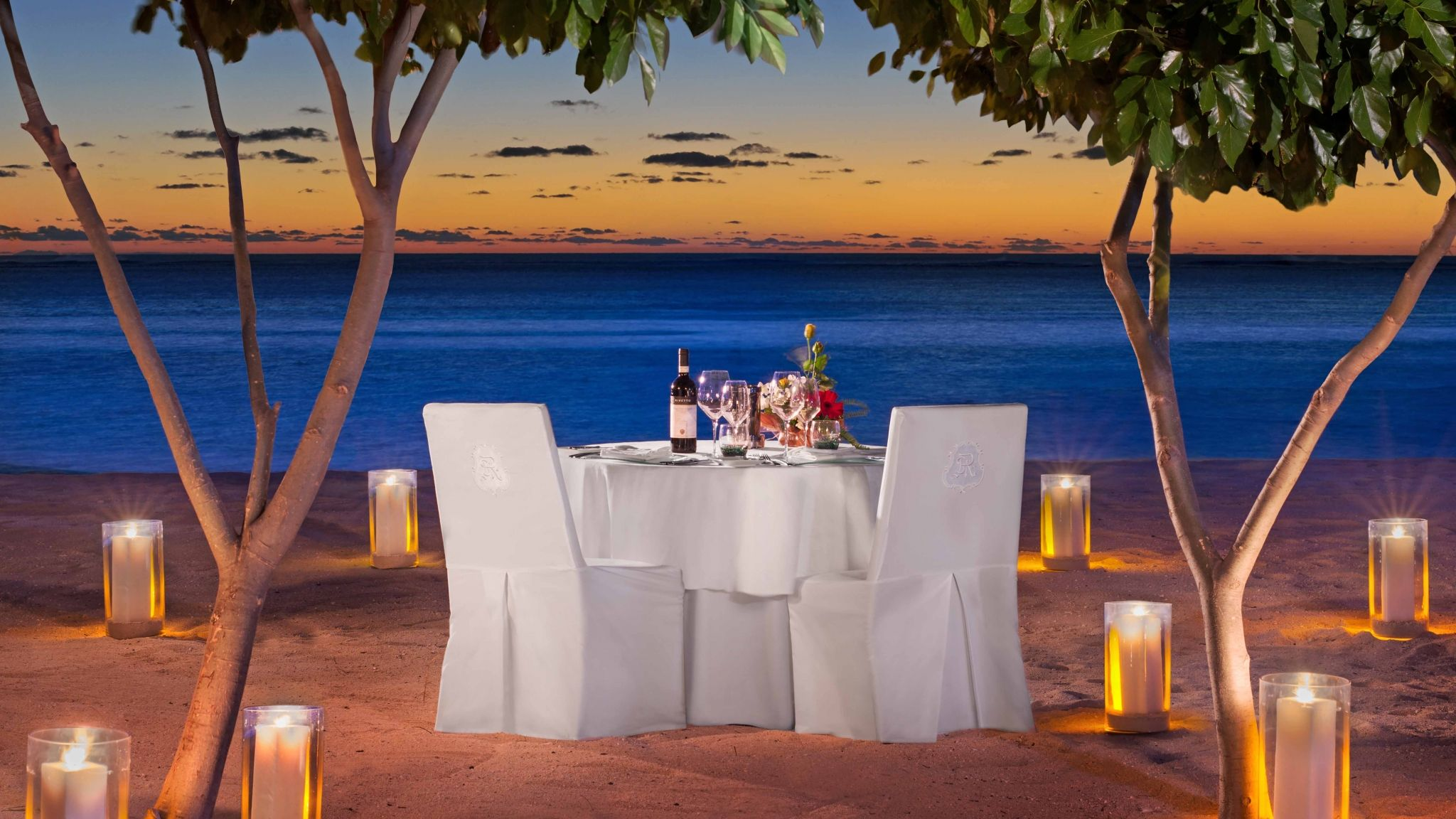 St. Regis Mauritius Private Dining on the Beach