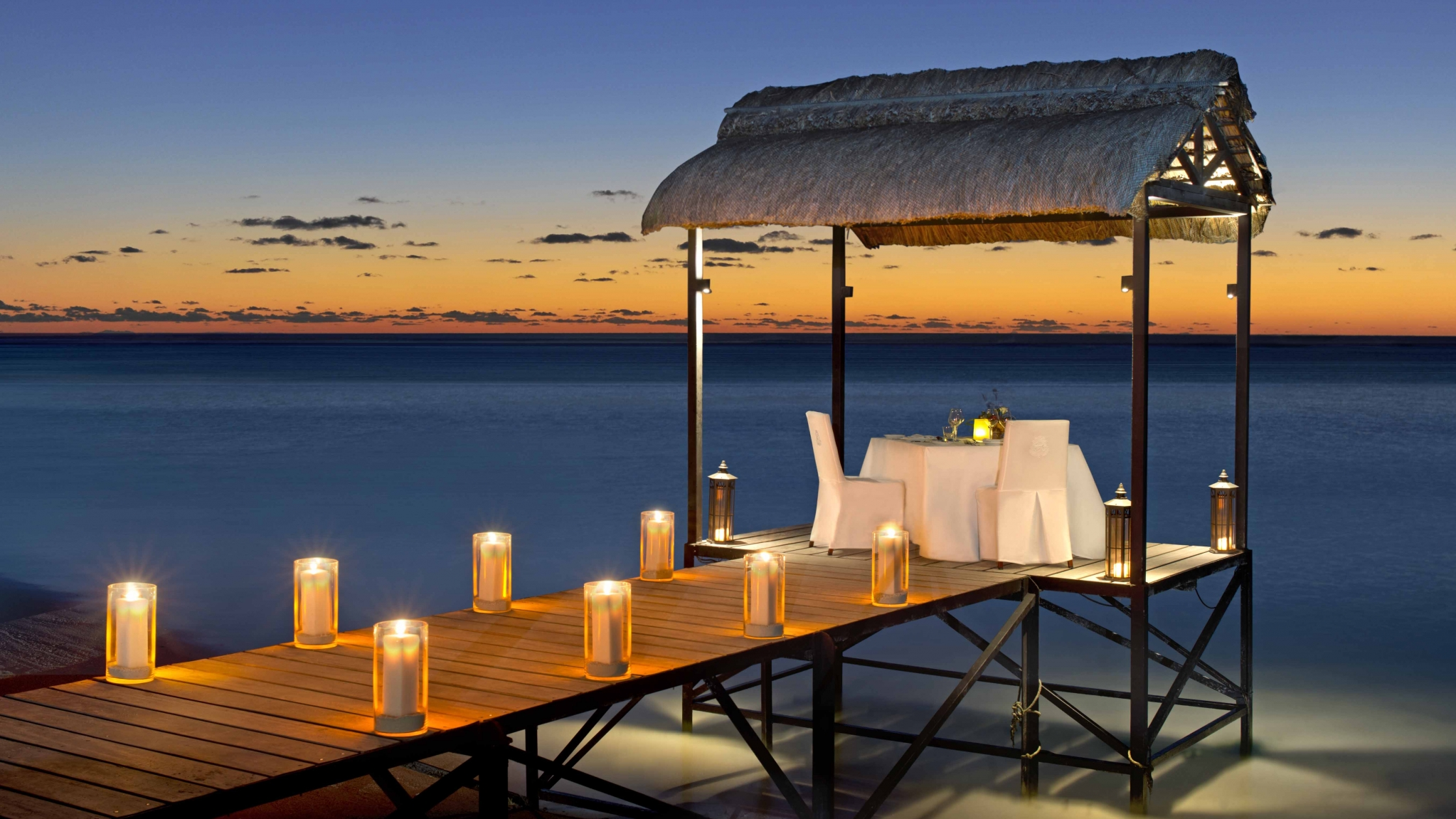St. Regis Mauritius Private Dining on the Jetty